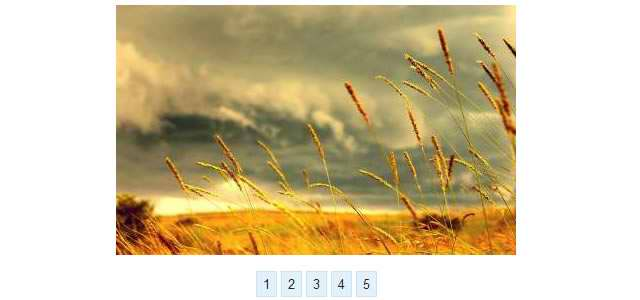 Image Slider With Pure CSS3